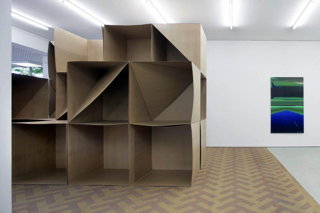 Ausstellungsansicht Johnengalerie Berlin